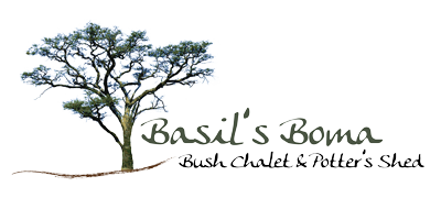 Basils Boma Bush Chalet & Potter's Shed